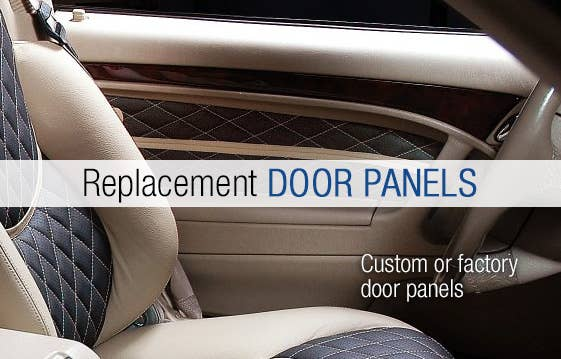 Replacement DOOR PANELS custom fit to your vehicle
