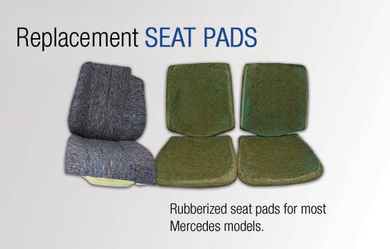 Replacement Mercedes SEAT PADS for most model