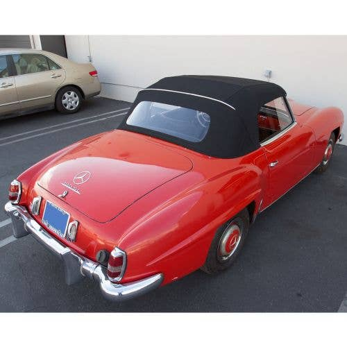 Convertible Top for Mercedes 190SL Roadster (W121) 1963-1971 Included Soft Top