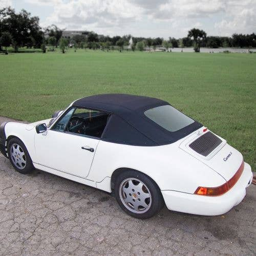 Porsche 911 Series 1983-1994 Top, 1 Piece Plastic Window