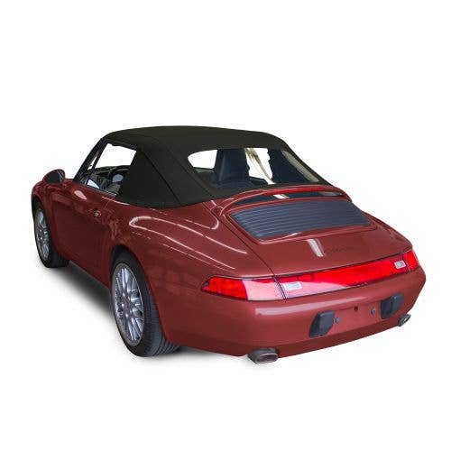 Porsche 911 Series 1994-1998 Convertible Top, Plastic Window