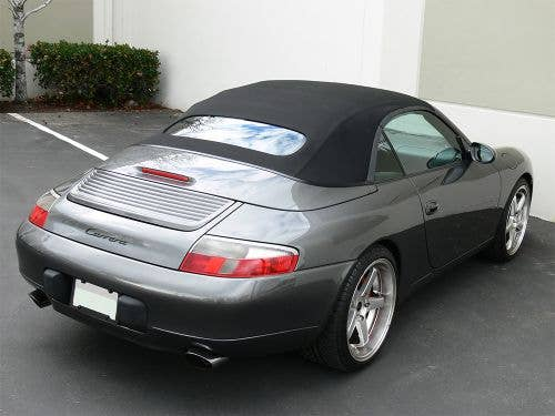 Convertible Top for Porsche 911 Series 1999-2001  Heated Glass Window Soft Top