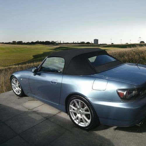 Honda S2000 2000-2001 Convertible Top, Glass Window