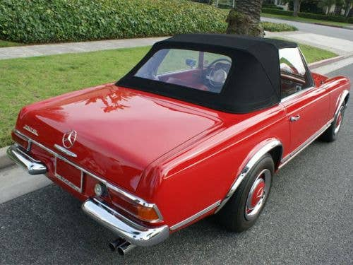 Convertible Top for Mercedes 230SL-280SL (113) 1963-1971 Included Soft Top